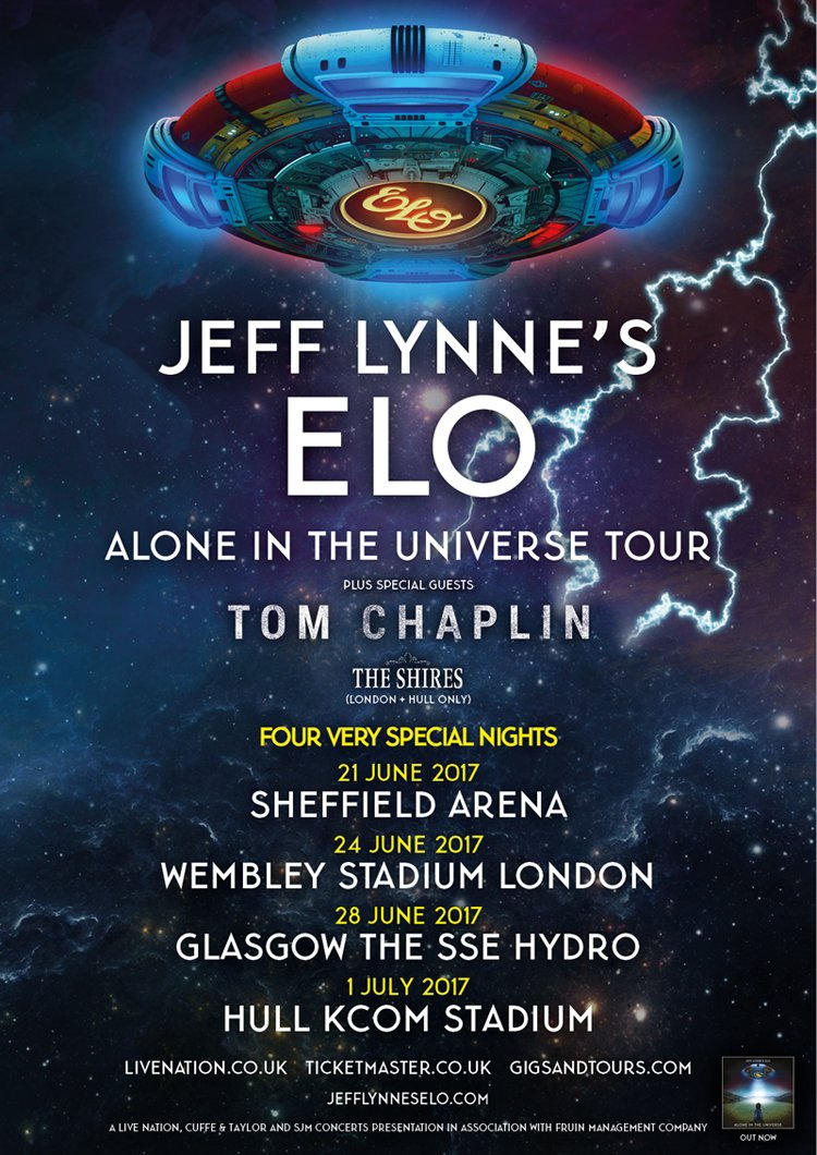 Alone in the Universe Tour 2017